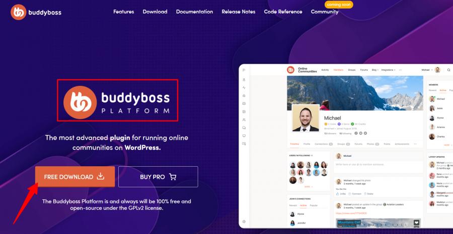 Free-Platform-To-Create-Online-Communities-BuddyBoss