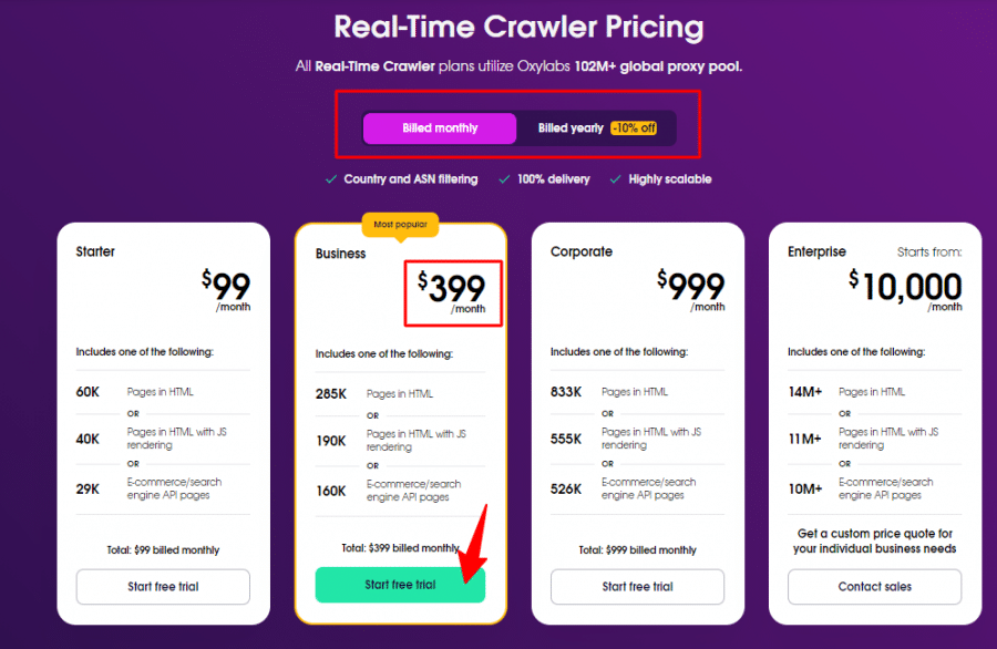 Real-Time-Crawler-pricing-Oxylabs