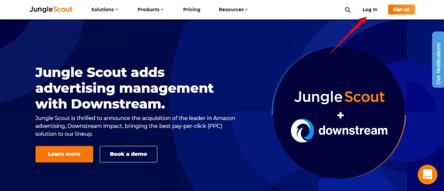 Jungle-Scout-Amazon-Seller-Software-login