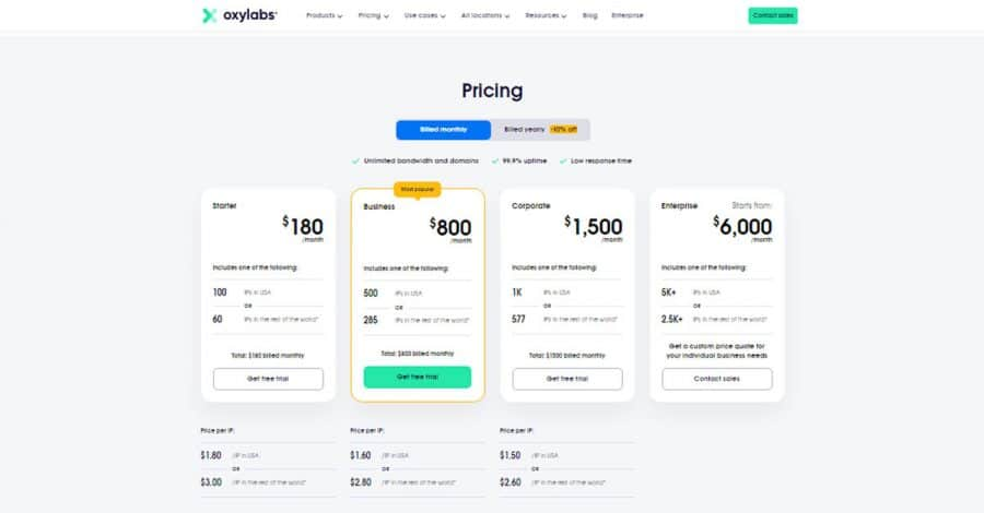 Oxylabs-Monthly-Pricing-Plans