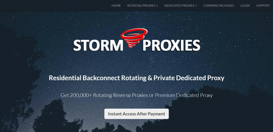 Storm Proxies Coupon Code