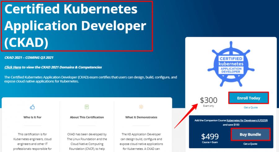 Certified-Kubernetes-Application-Developer-CKAD-Linux-Foundation-Training