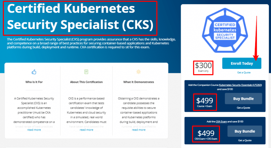 Certified-Kubernetes-Security-Specialist-CKS-Linux-Foundation-Training