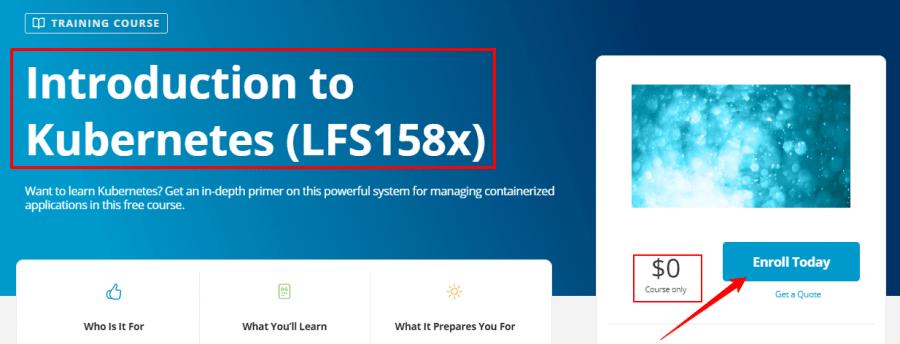 Introduction-to-Kubernetes-LFS158x-Linux-Foundation-Training
