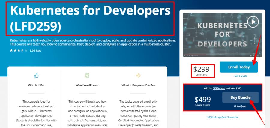 Kubernetes-for-Developers-LFD259-Linux-Foundation-Training