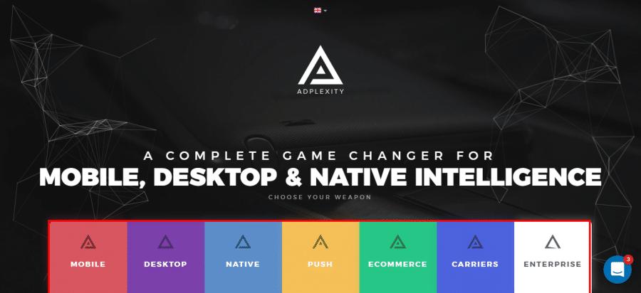 AdPlexity-Homepage