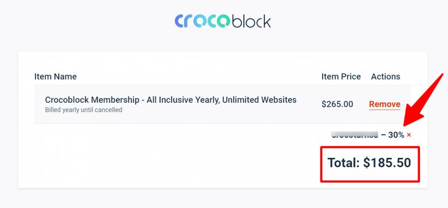 Crocoblock coupon code