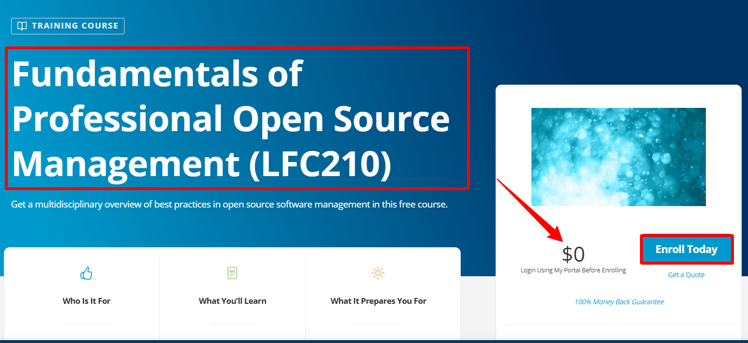 Fundamentals-of-Professional-Open-Source-Management-LFC210-Linux-Foundation-Training