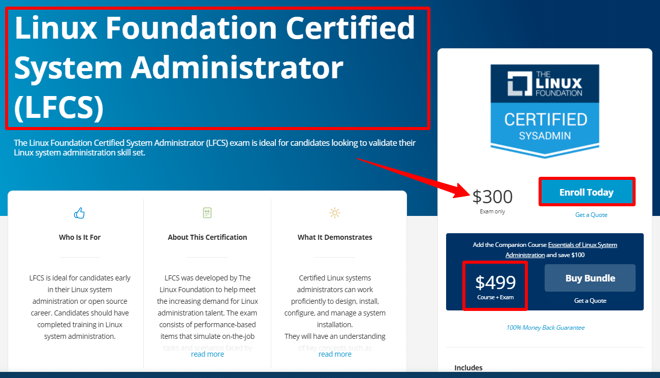 Linux-Foundation-Certified-System-Administrator-LFCS-Linux-Foundation-Training