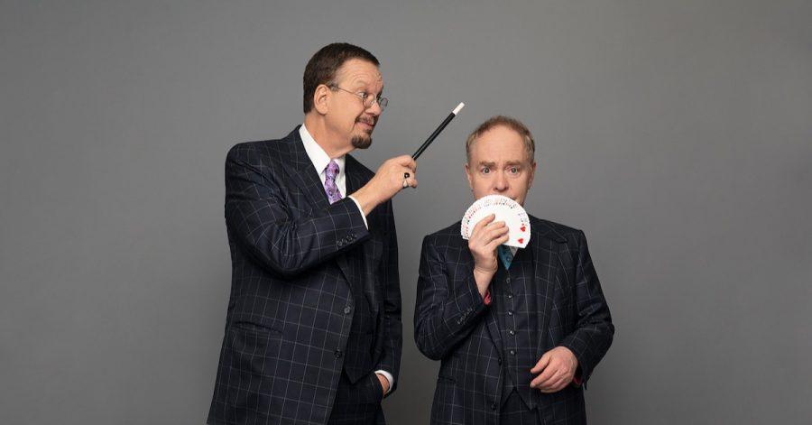Penn and teller world class magician