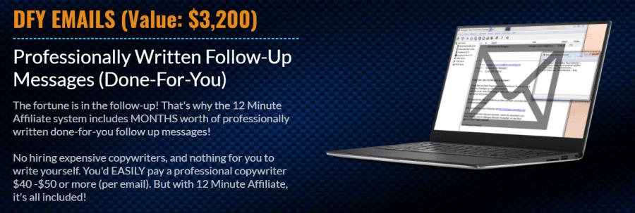 12 min affiliate Emails
