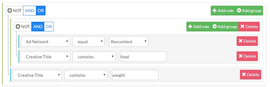 Advanced Keyword Search