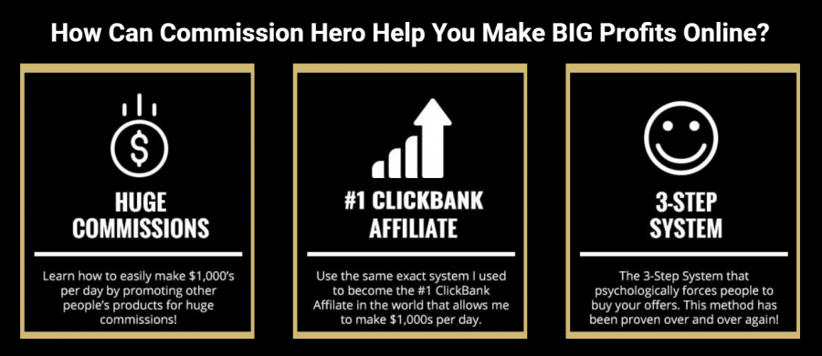 Commission hero step by step guide