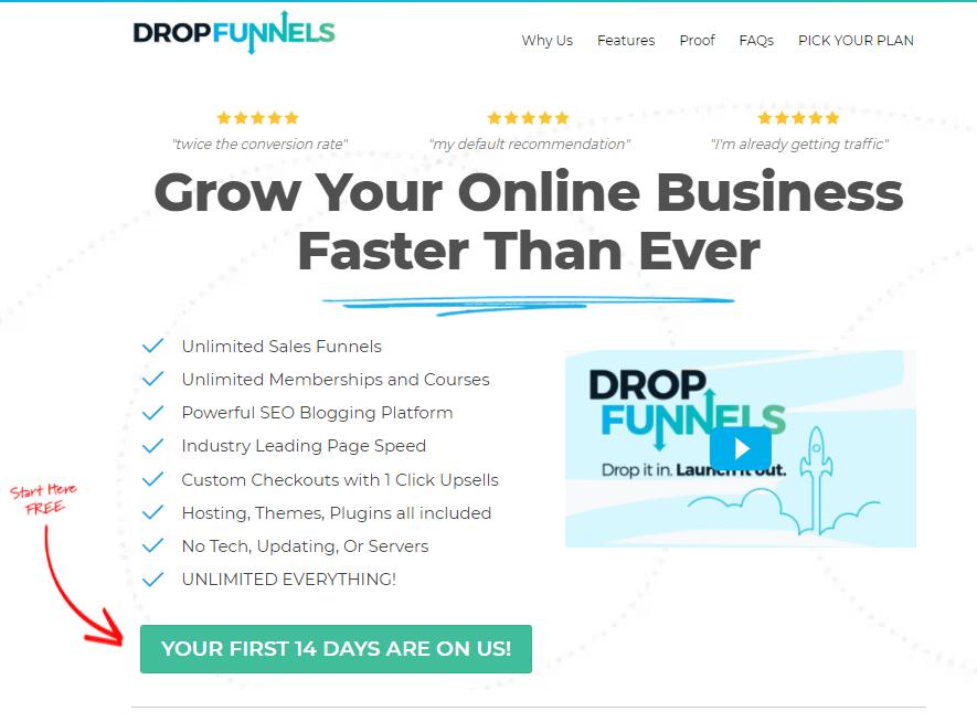 GrooveFunnels-Alternatives-Get-Started-With-DropFunnels