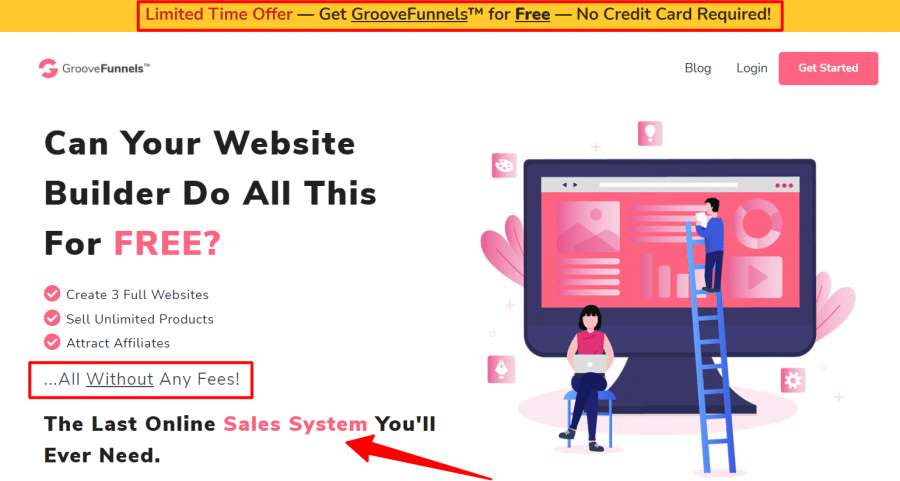 GrooveFunnels Review-OFFICIAL-Site-Lifetime-Free-Account-Limited-Time-Offer