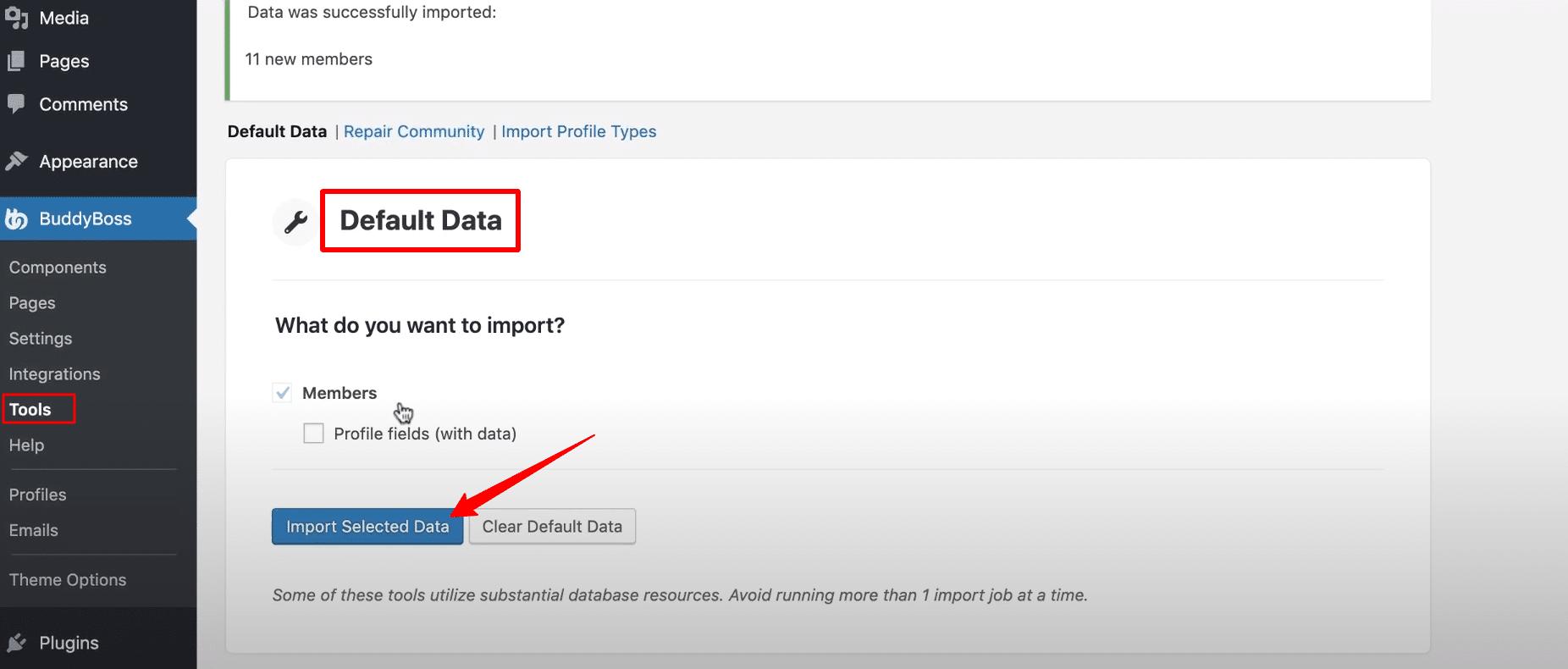 Setup-Default-Data-Knowledge-Base-BuddyBoss-Resources