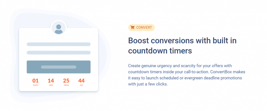 convert feature of convertbox