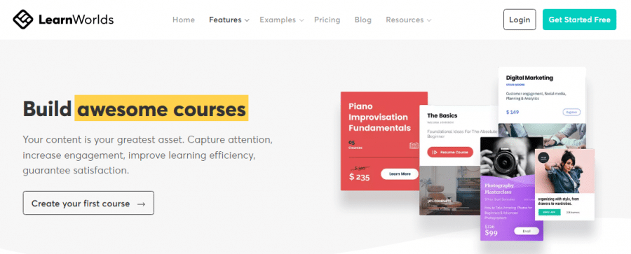 LearnWorlds build awesome courses