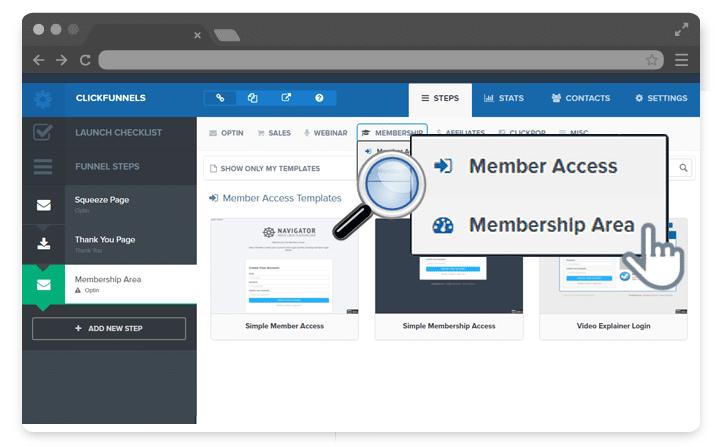 creating membership sites